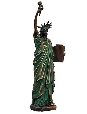 Sculpture Statue of liberty USA America New York figure antique style - 39cm