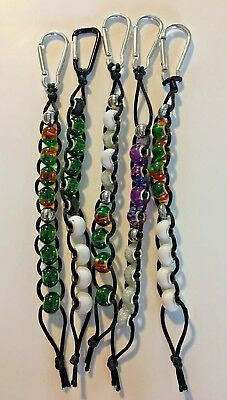 Golf Bead Score, Shot, Counter Keeper with caribiner clip, golf counter, beaded
