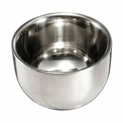 Stainless Steel Brush Shave Bowl Shave Razor SS
