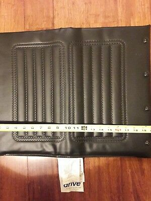 "Drive wheelchair parts,upholstery seat, seat vinyl, seat cushion, 20"" Wx 16""D"