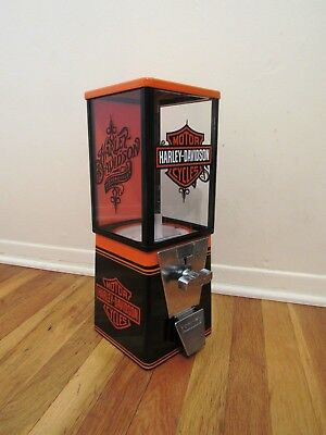 Harley Davidson motorcycle vintage candy 25 cent machine