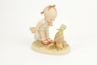 """Memories Of Yesterday """"Good Morning, Little Boo-Boo"""" Lucie Attwell,1991 Figurine"""