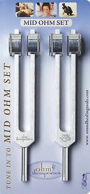 Sound Universe - Tuning Fork Mid Ohm Set New