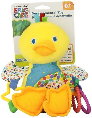 World of Eric Carle, Developmental Toy with Sound, Duck New