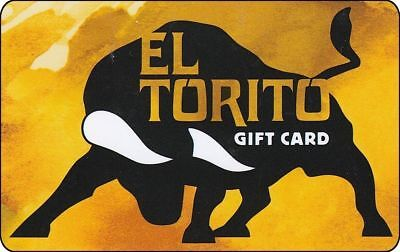 $ 200  EL TORITO PHYSICAL GIFT CARD - GOOD at  ALCAPULCO, CHEVYS & LAS BRISAS