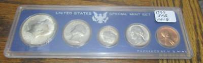 1966 Special Mint Set.  No Box of Issue.  40% Silver Half Dollar         #MF-8