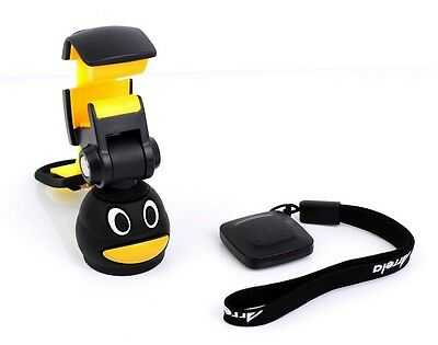 H1: Bottle Cap Tripod with Bluetooth Camera Remote for iPhone 5 5S 5C 6 7 8 X