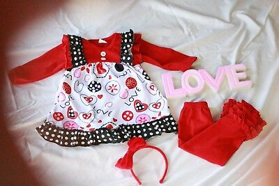 Valentine's Day outfit (2 piece set)