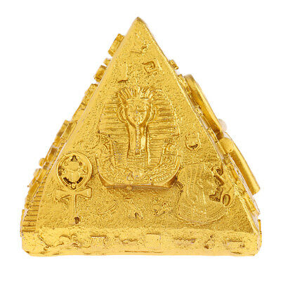 Ancient Egyptian Pyramids Figurine Khufu Pyramid Model Statue Resin Craft