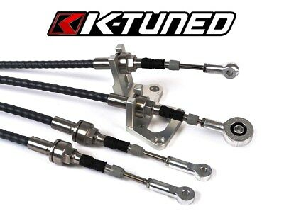 K Tuned Race-Spec Shifter Cables and Trans Bracket RSX EG EK K Swap K20 K24