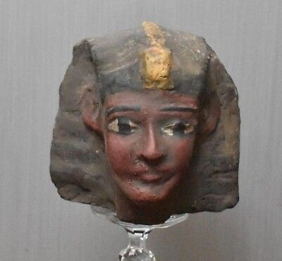 Rare Ancient Egyptian HEAD of  Ramesses II  stone   (1300to1069 BC)