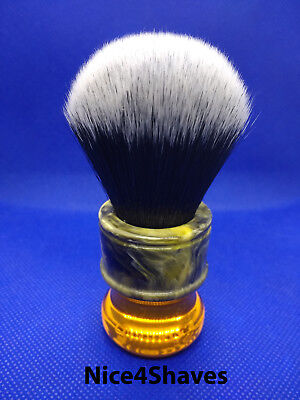 yaqi shaving brush synthetic bristle 24mm high quality hair lather safety razor