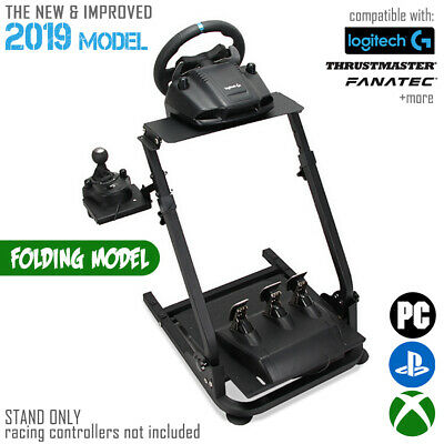 Pro Racing Simulator Steering Wheel Stand for T300RS 458 T80 G27 G29 PS4 G920