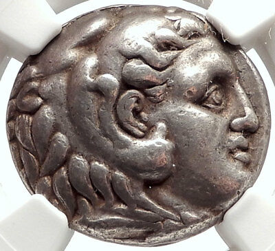 Seleukos I Nikator Silver Greek Tetradrachm Coin ALEXANDER the GREAT NGC i66852