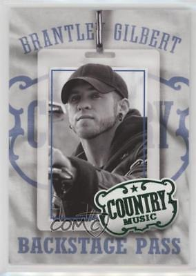 Brantley Gilbert 2014 Panini Country Music Autograph Red Parallel /199 *Y29 Overig Verzamelkaarten, ruilkaarten