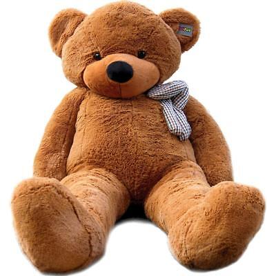 "Joyfay® Teddy Bear CE 78"" 200cm Dark Brown Large Giant Plush Toy Valentine Gift"