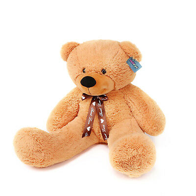 "Joyfay® Teddy Bear CE 39"" 100cm Orange Large Giant Big Plush Toy Valentine Gift"