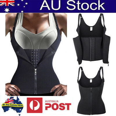 Women Weight Loss Waist Trainer Vest Sport Cincher Slimming Training Body Shaper