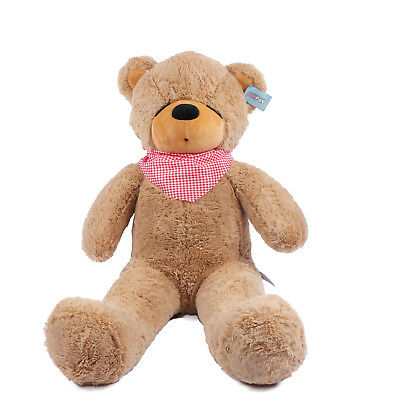 "Joyfay® Teddy Bear CE 39"" 100cm Brown Large  Giant Big Plush Toy Valentine Gift"