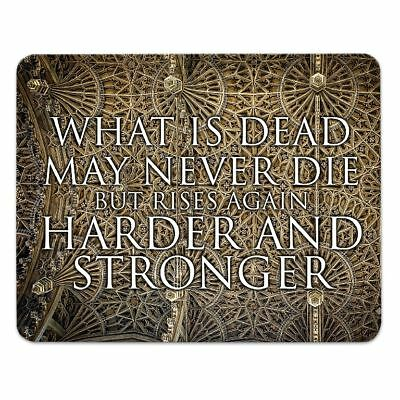 Mousepad 'What is dead may never die' GAME OF THRONES - 24x19cm - GOT
