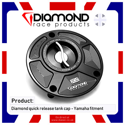 Diamond Race Products - Yamaha Quick Release Tank Fuel Cap For Yzf R6 2016, 2017