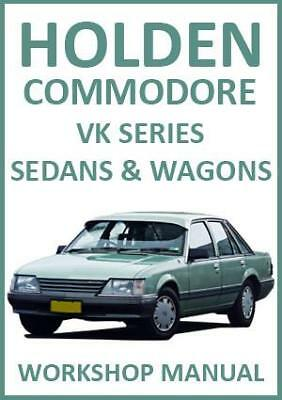 HOLDEN COMMODORE VK Series WORKSHOP MANUAL