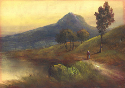 Early 20th Century Oil - Autumnal Landscape