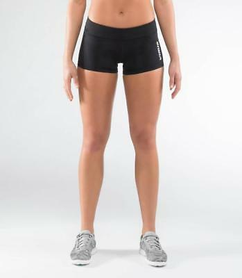 Women's Stay Cool Compression Shorts DATA (ECo22) Black/Silver