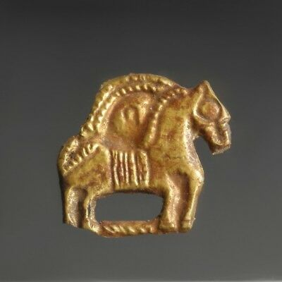 Western Asiatic Scythian Gold Horse Appliqué
