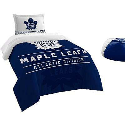 The Northwest Company Toronto Maple Leafs Draft Twin Comforter & Sham Set