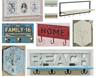 Coat Hooks Storage Hangers Picture Frame Towel Rack home Rail Clothes Hats Scarf