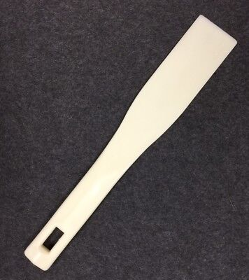 "Ink Knife White Plastic 1 3/4"" Wide X 5"" Blade X 11 1/2"" Overall Total Length"