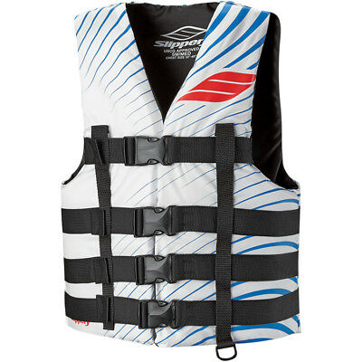 Slippery Adult Vest Hydro White/Blue 4X+