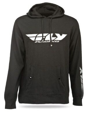 Fly Racing 2014 Adult Hoody Corporate Black Hoodie Size Large LG