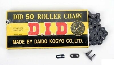 D.I.D DID 530 Standard Chain 104 Links with Clip Masterlink