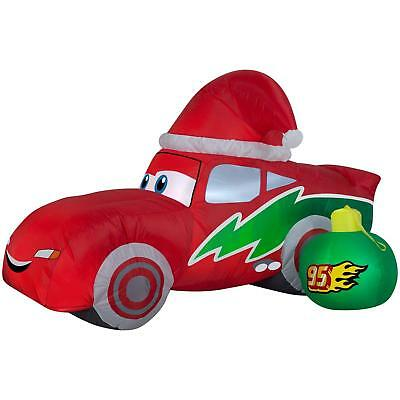 Airblown 6' Inflatable Red Lightning McQueen Easy Storage Ornament