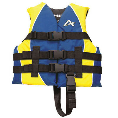 Airhead Child Closed Sided Nylon Life Jacket Blue