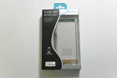 New OEM EliveBuy 3100mAh Extended Battery Case For iPhone 6/6s- Gold/Clear