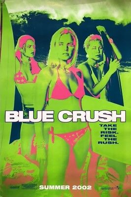 Great BLUE CRUSH Original Movie Poster