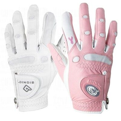 NEW Bionic StableGrip Lady's Leather Golf Gloves - Pick Size, Color, & Quantity!