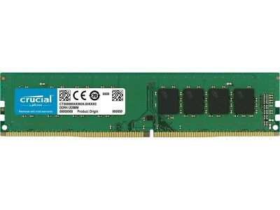 Crucial 8gb 288 Pin Ddr4 Sdram Ddr4 2400 Pc4 19200 Desktop Memory