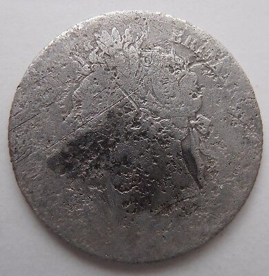 1825 Silver Sixpence