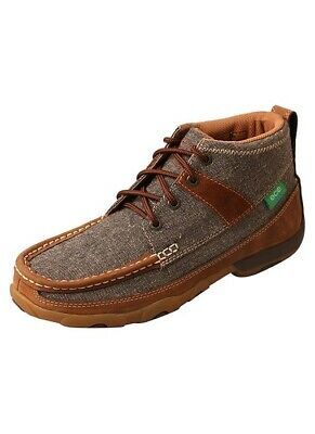 Twisted X Women's Dust Brown ECO TWX Driving Moccasins WDM0094