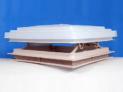 Roof Vent Sky Light Caravan Motorhome 280 x 280mm Flynet Rooflight Brand New