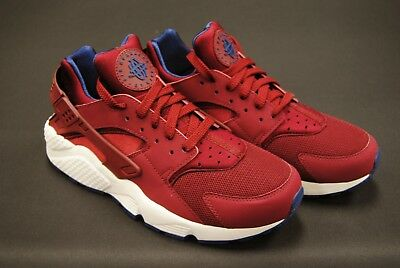 [318429 608] New Men's Nike Air Huarache Team Red Navy Sail Le990