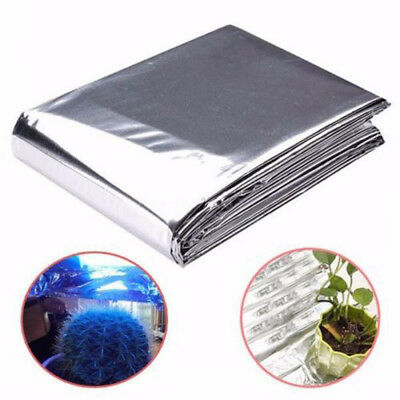 Hydroponic Highly Reflective Garden Wall Mylar Film Covering Sheet 210cm x 120cm