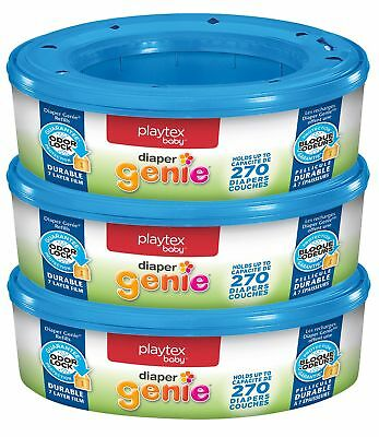 Playtex Diaper Genie Refills for Diaper Genie Diaper Pails - 270 Count (Pa..