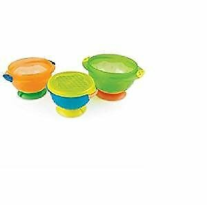 Munchkin Stay Put Suction Bowl, 3 Count ,  2 pack.