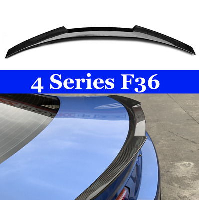 For BMW F36 Carbon Spoiler M4 Style 4 Series F36 Carbon Fiber Rear Spoiler Rear
