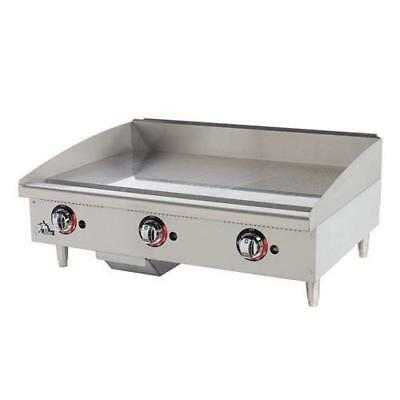 "Star - 636TF - Star-Max 36"" Thermostatic Control Gas Griddle Flat Top Grill"